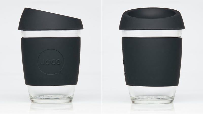 Illustration for article titled This Reusable Coffee Cup Blends in at the Coffee Shop