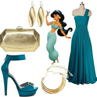 Illustration for article titled How To Dress Like A Disney Princess For Prom