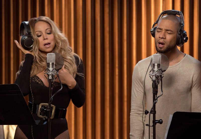 Mariah Carey as Kitty and Jussie Smollett as Jamal in EmpireChuck Hodes/Fox