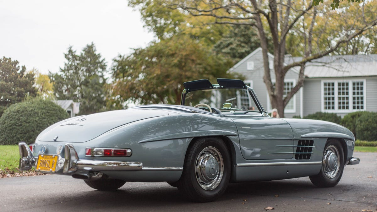 The Mercedes AMG GT C Roadster And Benz 300SL Both Hail From A Golden Age
