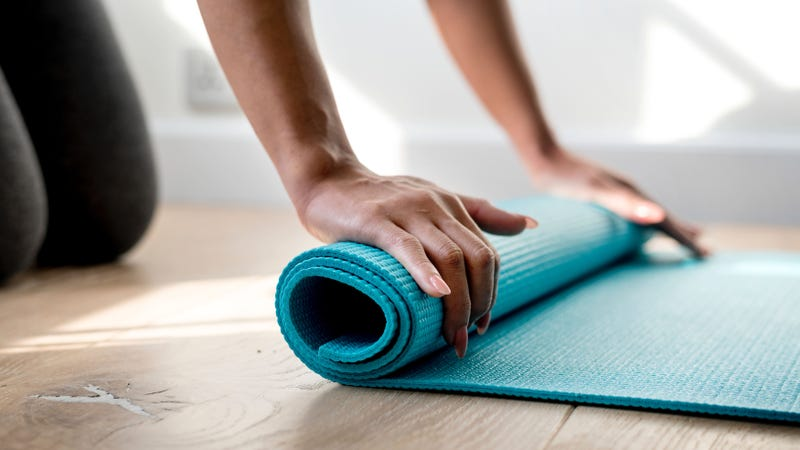 Illustration for article titled How Do I Clean My Disgusting Yoga Mat?
