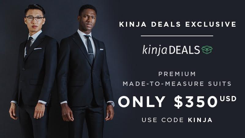 Indochino Premium Suits, $350 + free shipping, use promo code KINJA