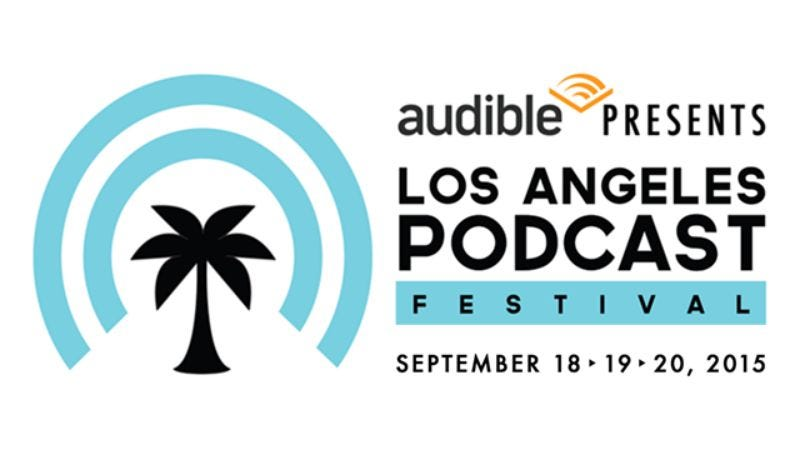 Illustration for article titled Win tickets to Audible Presents The Los Angeles Podcast Festival