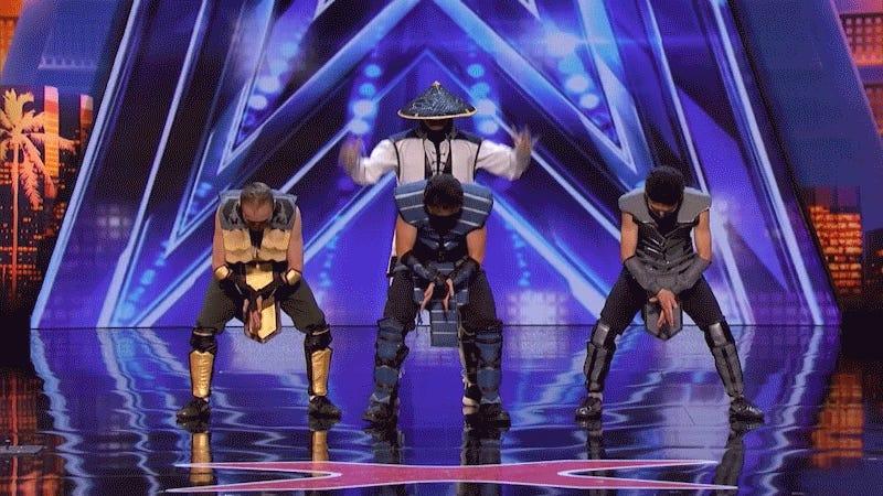 Body-Bending Dancers Do A Mean Mortal Kombat Routine On America's Got Talent