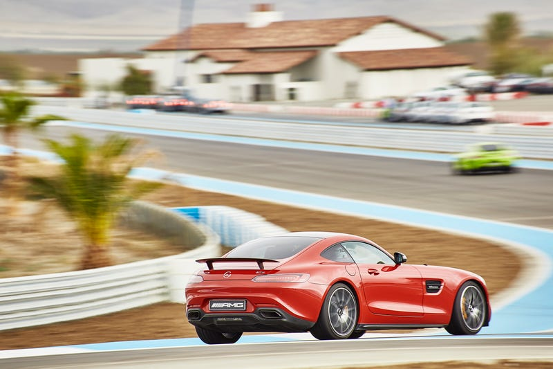 Illustration for article titled Massive AMG GT-S track day photo dump #2