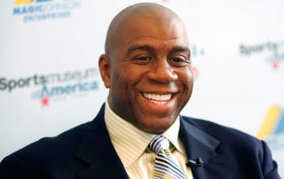 Illustration for article titled Magic Johnson Has Bought The Los Angeles Dodgers For $2 Billion