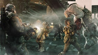 Illustration for article titled Gears of War 3 Live from Comic-Con