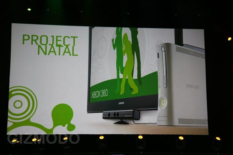 Illustration for article titled Xbox 360 Project Natal: Full-Body Motion Control One-Ups the Wii