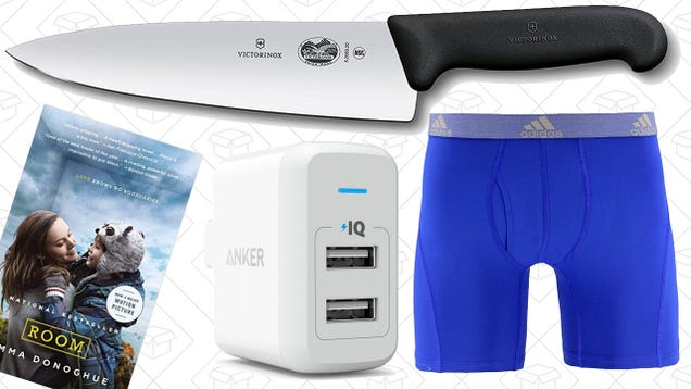 Sunday's Best Deals: Kindle Ebooks, Knives, Athletic Apparel, and More
