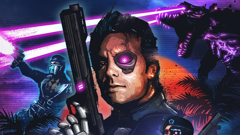 Illustration for article titled Far Cry 3: Blood Dragon Is Gonna Be Totally Free