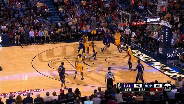 Kobe, Oh Noooo: The Los Angeles Lakers won tonight (!), their s…