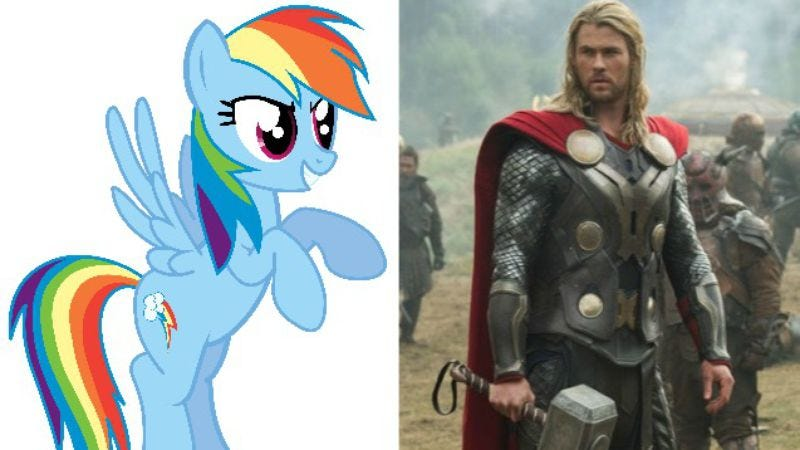 Illustration for article titled My Little Pony movie to take on Thor: Ragnarok in 2017