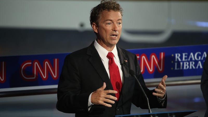 Illustration for article titled Rand Paul Calls Out Jeb Bush, Former Rich-Kid Weed Smoker, for Marijuana Hypocrisy