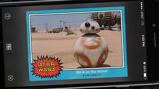 Illustration for article titled Topps Are Bringing Back Star Wars Trading Cards... In Digital Form