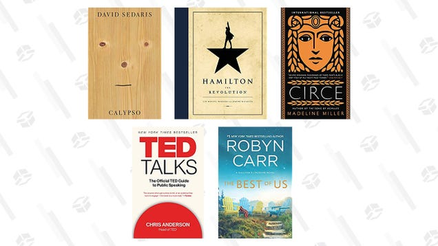 Fill Your Digital Library With a Few Discounted Bestsellers