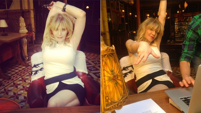 Illustration for article titled Courtney Love Found That Missing Plane