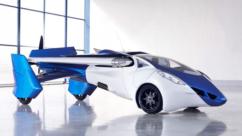 Illustration for article titled New AeroMobil 3.0 flying car is one really cool transformer