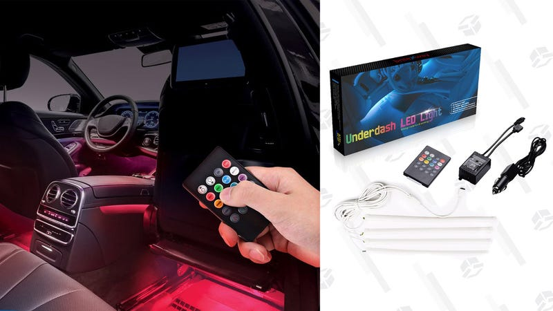 briteNway LED Underdash Lights | $24 | DailySteals and Amazon | Use code KJDASH