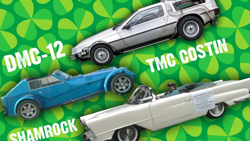 Illustration for article titled Erin Go Vroom: The DeLorean And Ireland's Two Other Cars