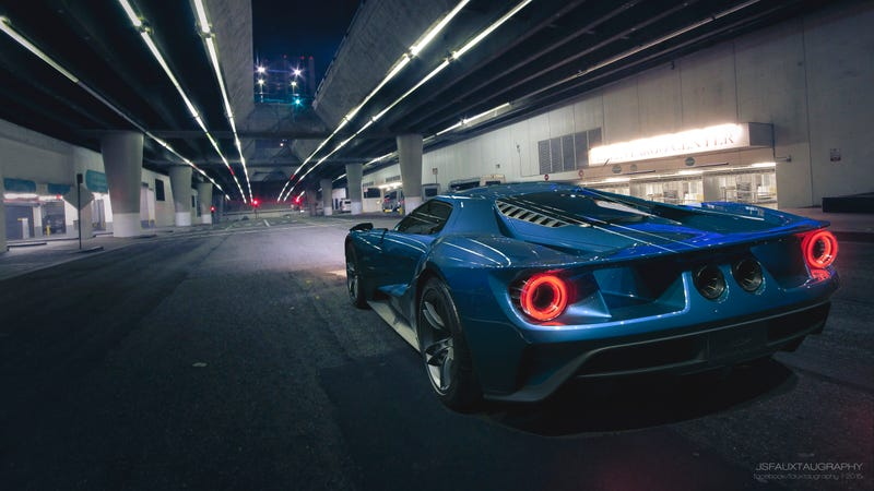 Illustration for article titled Ford GT Street 'Shopping