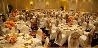 The interior of Villa Christina, where a canceled wedding celebration turned into a charity dinner (Villa Christina website)