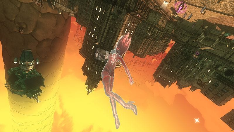 """Illustration for article titled Gravity Rush carries on the artistic legacy of Jean """"Moebius"""" Giraud"""