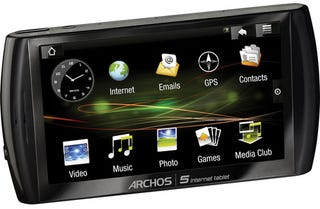 Illustration for article titled Archos Android Tablet Price and Pictures Leak