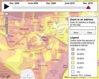 Digital-divide map (thelensnola.org)