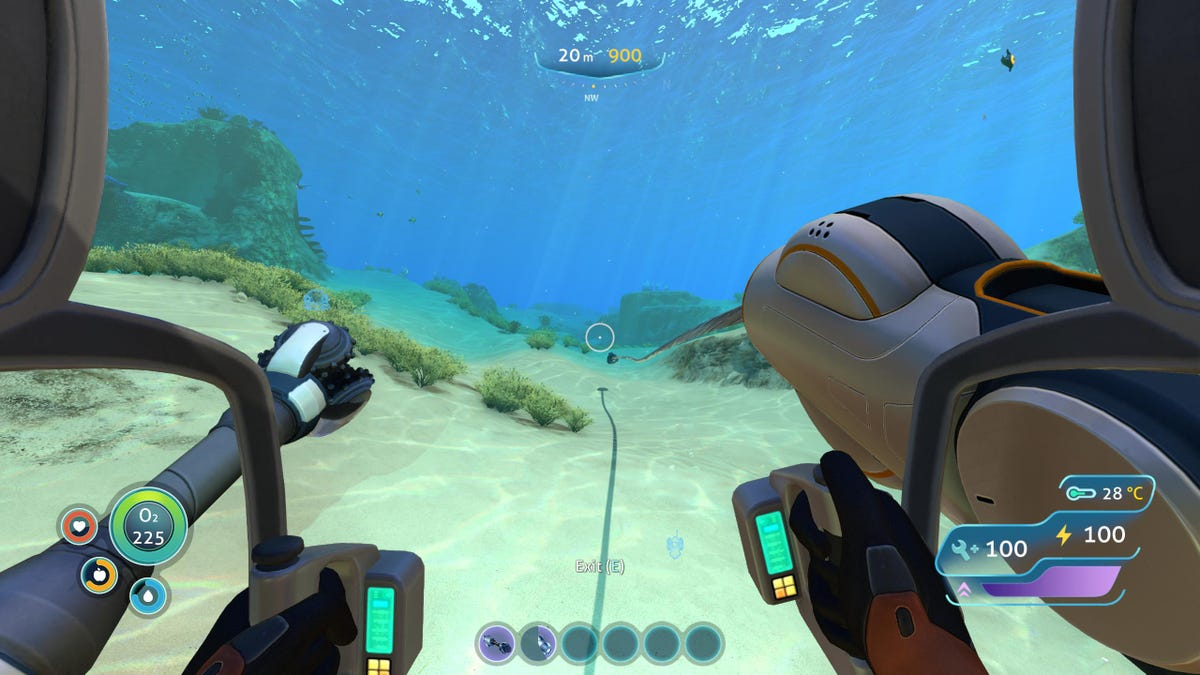 Subnautica As Told By Its Bug Reports Wiring Kit