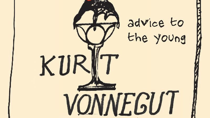 "Illustration for article titled Kurt Vonnegut used a graduation speech to explain how ""music cures our ills"""