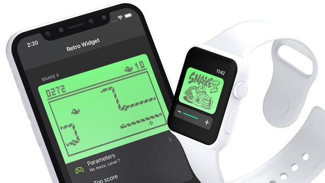 You Can Finally Play the Classic Nokia Snake Game on Your Apple Watch and iPhone
