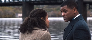 Will Smith (right) as Dr. Bennet OmaluYouTube Screenshot