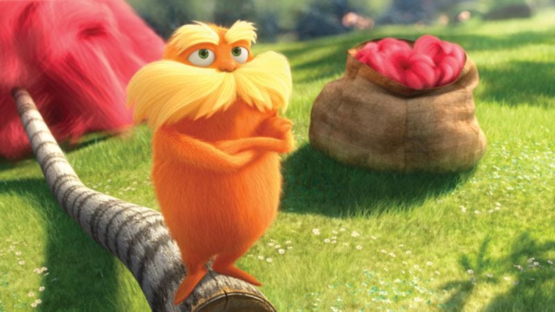 Illustration for article titled The Lorax