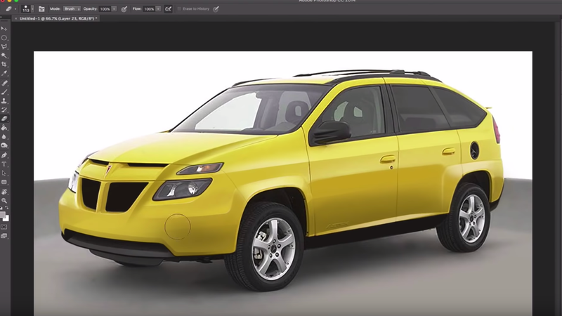 Illustration for article titled How a Simple Redesign Could Have Made the Pontiac Aztek Less Ugly
