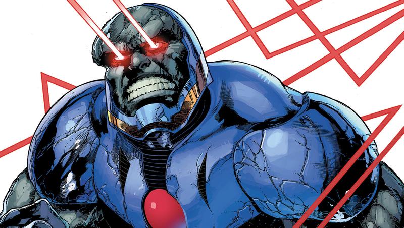 Darkseid doing his laser eye thing.