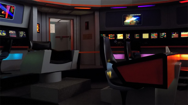 Illustration for article titled Step Into the Enterprise by Touring This IncredibleStar TrekSetRecreation
