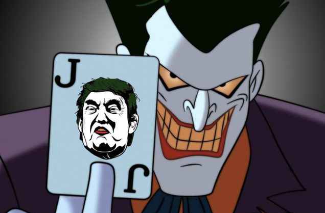 mark hamill returns as the joker to mock donald trump s tweets