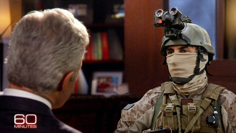 The elite SEAL team members have been specially trained to handle all manner of media appearances, magazine interviews, and news site profiles.