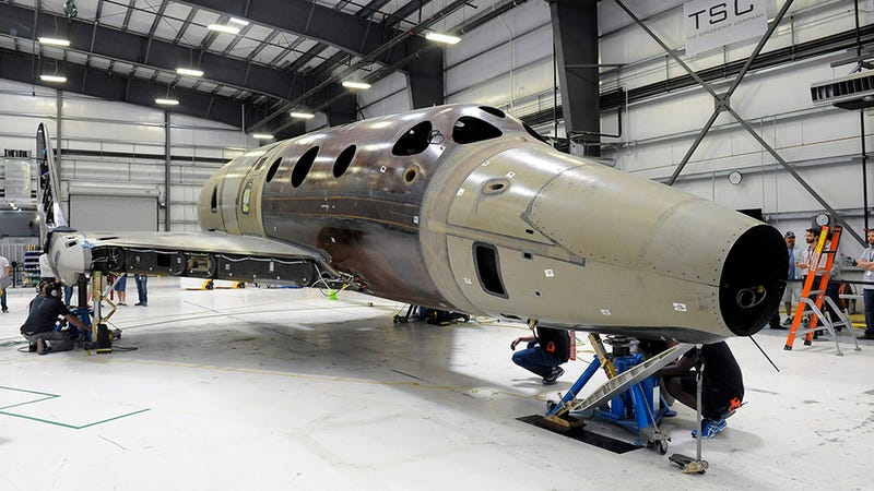 Flight Tests of Virgin Galactic's New Space Plane Could Start Early Next Year