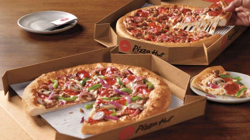 photo regarding Pizza Hut Menu Printable identified as Pizza Hut launches $5 menuwith a capture