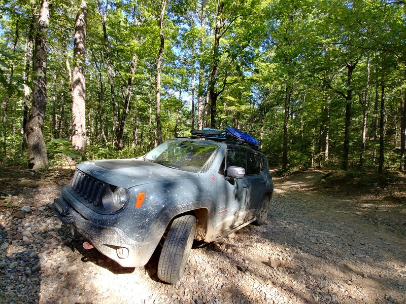 Illustration for article titled Day 2 of the off-road trip was even better... Until it wasn't