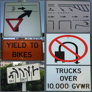 Illustration for article titled America's 10 Most Confusing Traffic Signs