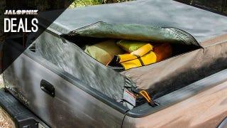 Illustration for article titled Pickup Truck Cargo Bag, Water Blade, Mechanics Tool Set [Deals]