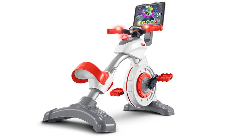 Illustration for article titled Fisher-Price Will Battle Childhood Obesity With an Exercise Bike Tablet Holder