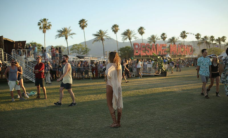 Illustration for article titled Coachella-Goers Are Trying to Mail Their Tax Returns From Coachella, For Some Reason