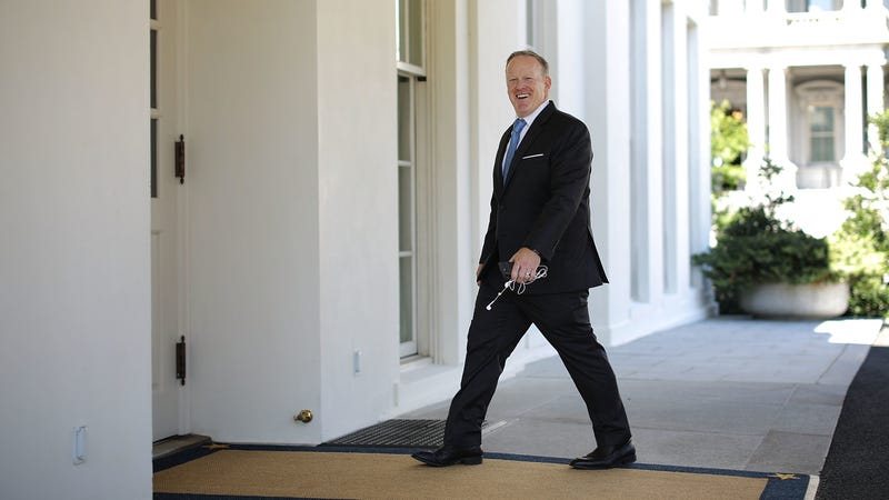 Report 'Dancing with the Stars' Eyeing Sean Spicer 'Has Legs'