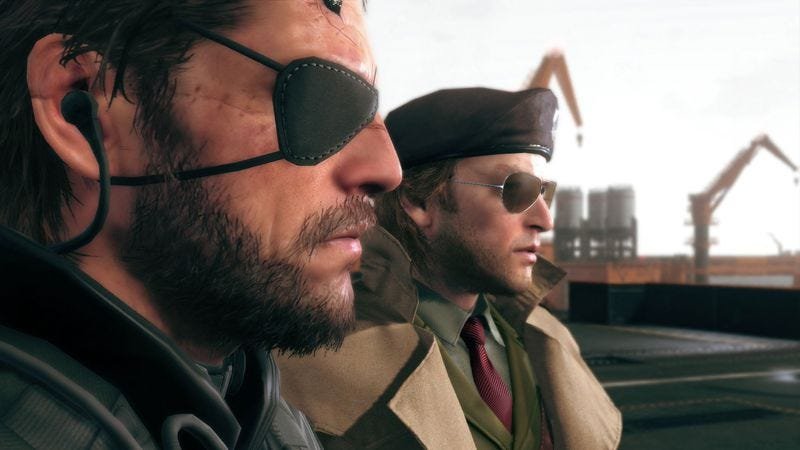 Metal Gear Solid V: The Phantom Pain is intense, audacious