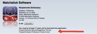 Illustration for article titled The Stupidest App Store Incident Yet: Apple Censors a Dictionary