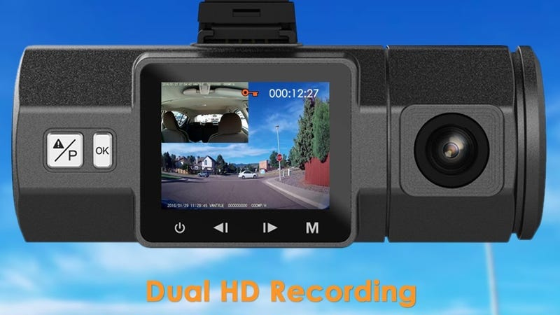 Illustration for article titled Take Your Pick Of Six Discounted Dash Cams, Including Dual Lens Models
