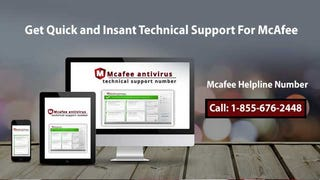 Illustration for article titled McAfee Technical Support Number 1-855-676-2448